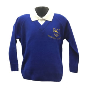 Chacewater School V Neck Jumper