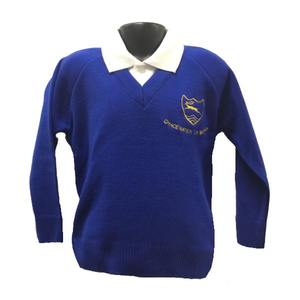 Chacewater School V Neck Jumper