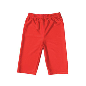 Girls Red PE Shorts