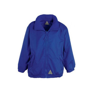 Royal Blue Showerproof Coat