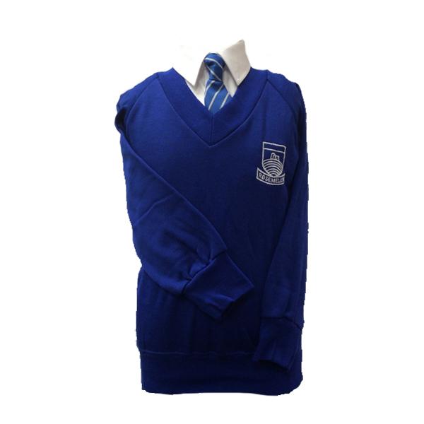 Rosemellin V Neck Sweatshirt Trophy Textiles Limited