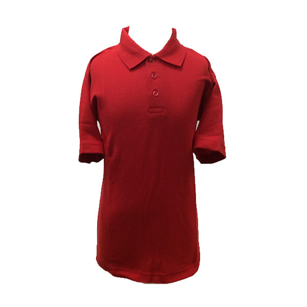 St Breock PE T-Shirt Red