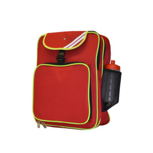 Red Large School Backpack