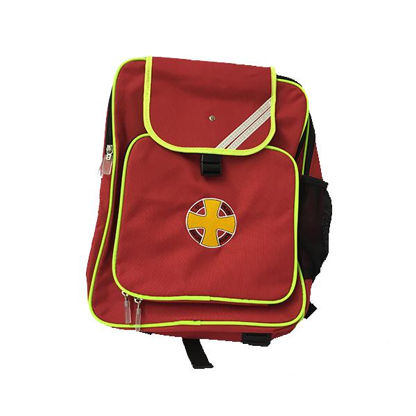 Red School Backpack