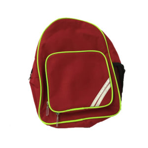 Red School Rucksack