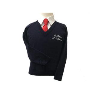 St John's V neck jumper