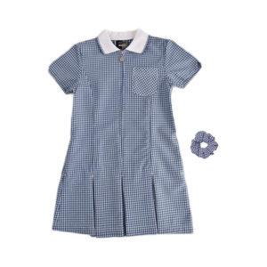 St Uny Gingham Dress