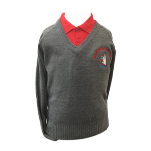 Mylor Bridge V Neck Jumper