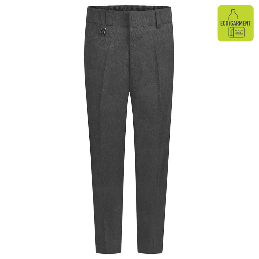 Slim Fit Trouser BT3051-SLIM-FIT-GREY-FRONT