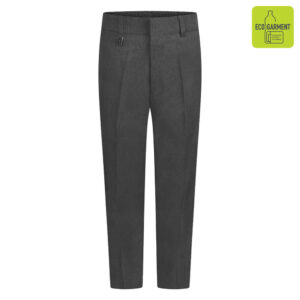 Grey Standard Fit Trouser